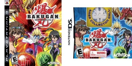 Bakugan video games