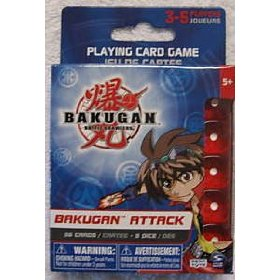 bakugan attack card game