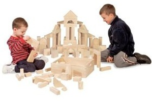Melissa and doug wood blocks