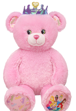disney princess bear build a bear
